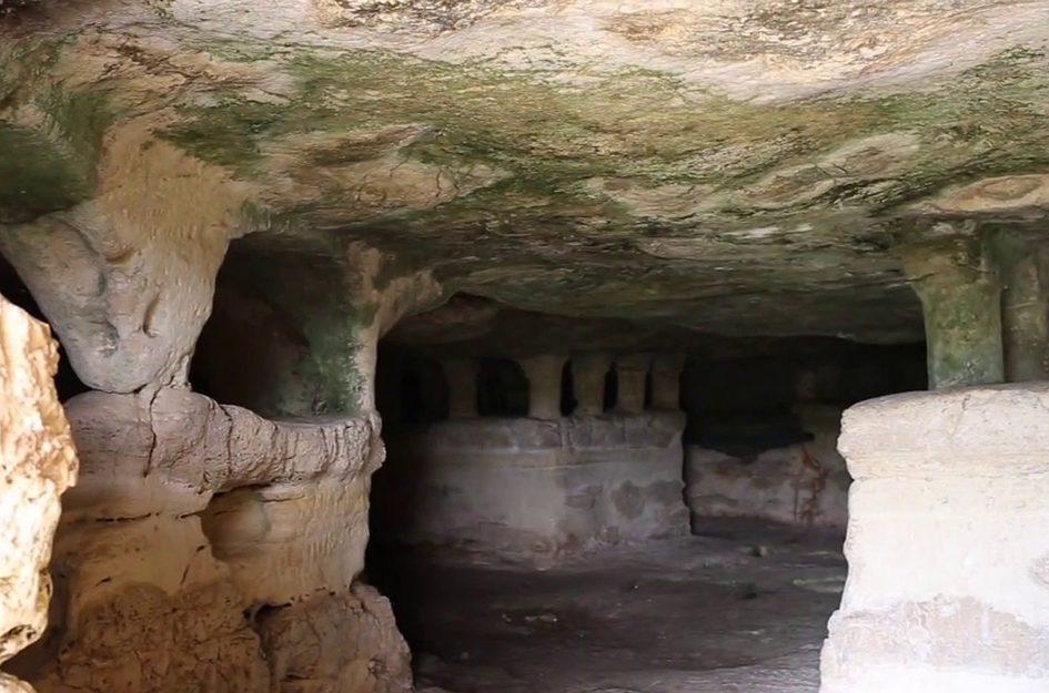 Le grotte delle Trabacche